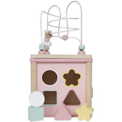 Cube d'activités Adventure pink  par Little Dutch