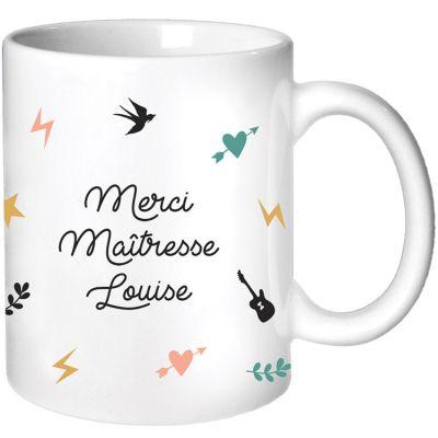 Mug Maîtresse Capsule (personnalisable)  par Les Griottes