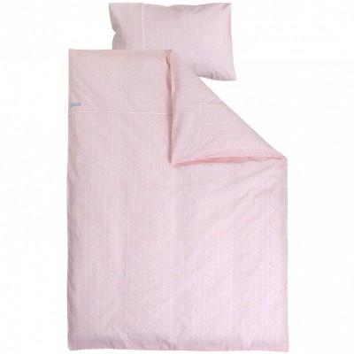 housse de couette et taie peach leaves 100 x 140 et 40 x. Black Bedroom Furniture Sets. Home Design Ideas