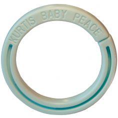Anneau pour protection de poussette bleu clair
