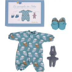 Panoplie de vêtements de poupée Les bébés