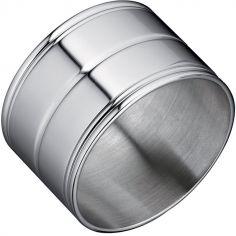 Rond de serviette Rondine (métal argenté)