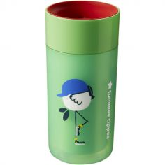 Tasse d'apprentissage 360° isotherme Easiflow verte (250 ml)