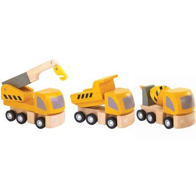 Véhicules d'entretien (3 pièces) Plan Toys