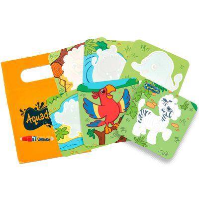 Mini puzzle à dessiner Zoo  par Aquadoodle