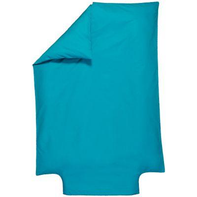housse de couette b b coton bio bleu nordique 100 x 140. Black Bedroom Furniture Sets. Home Design Ideas