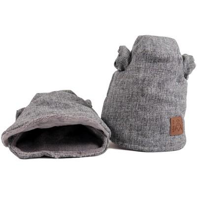 Moufles pour poussette Cooly gris anthracite Kaiser