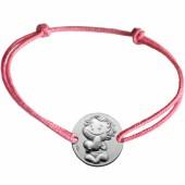 Bracelet cordon enfant Câline (argent 925°) - La Fée Galipette