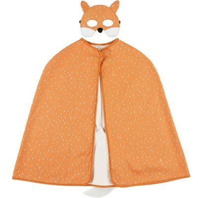 Cape et masque déguisement renard Mr. Fox (3-7 ans)  par Trixie