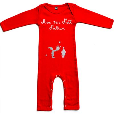 Pyjama personnalisable Mon Premier Noël (6 mois)