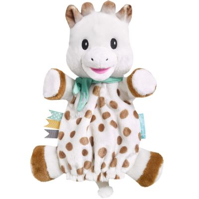 Doudou marionnette Sweety  par Sophie la girafe