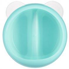 Boîte à goûter bleue