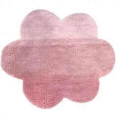 Tapis nuage dégradé rose (100 x 130 cm)