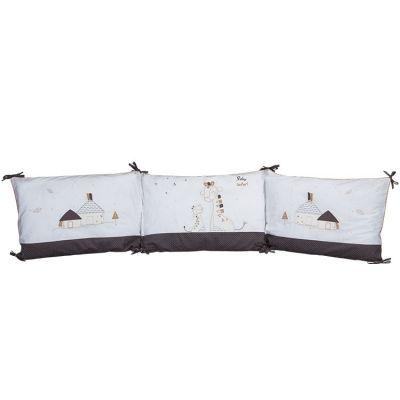 Tour de lit Kenza (pour lits 60 x 120 ou 70 x 140 cm)  par Sauthon