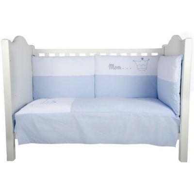 Tour de lit Mon...Prince bleu (pour lits 60 x 120 cm et 70 x 140 cm)  par Nougatine