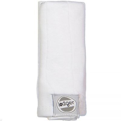Lange blanc Solid (70 x 70 cm)  par Lodger
