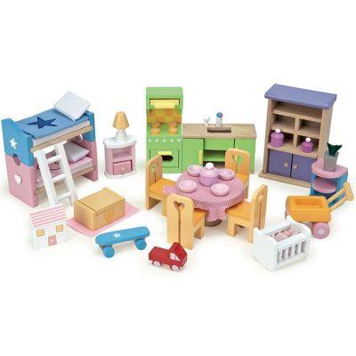 Assortiment meubles pour maison de poupées Starter  par Le Toy Van