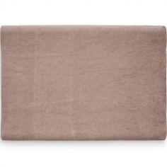 Housse de matelas à langer chesnut marron (50 x 70 cm)