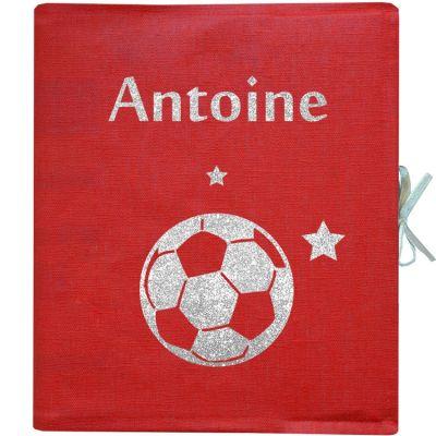 Album photo à motif personnalisable rouge (126 pages)  par Les Griottes
