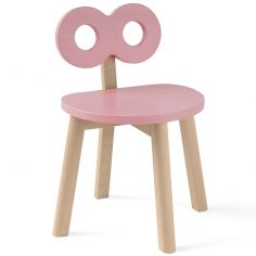 Chaise enfant infini rose