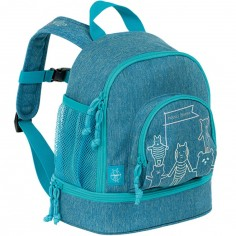 Mini sac à dos About Friends chiné bleu