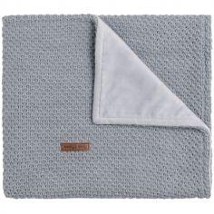 Couverture grise Flavour (70 x 95 cm)