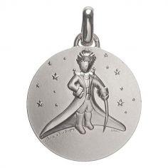 Médaille Petit Prince dans les étoiles (Argent 925°)
