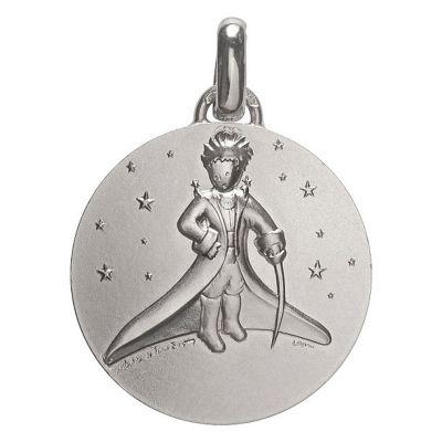 Médaille Petit Prince dans les étoiles (Argent 925°)  par Monnaie de Paris