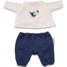 Pyjama Pablo le toucan (pour poupée 36 cm)