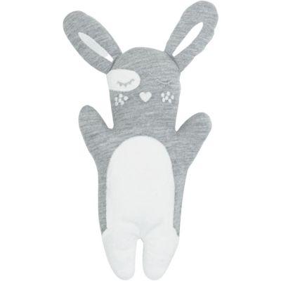 Doudou en coton bio Fifou le lapin gris  par Kadolis