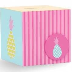 Tirelire en bois Pineapple Bunting