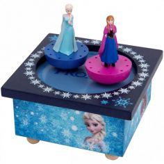 Boîte à Musique magnétique Elsa et Anna La Reine des Neiges
