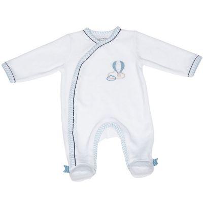 Pyjama chaud montgolfière Lazare (3 mois)  par Sauthon