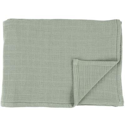 Lot de 3 langes en mousseline de coton Bliss Olive (55 x 55 cm)  par Trixie