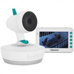 Babyphone vidéo YOO-Moov 360°
