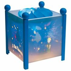 Lanterne magique Le Petit Prince bleue