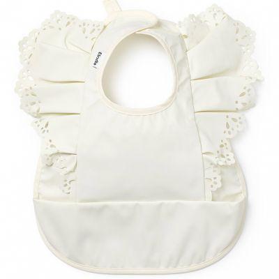Bavoir à poche Vanilla White  par Elodie Details