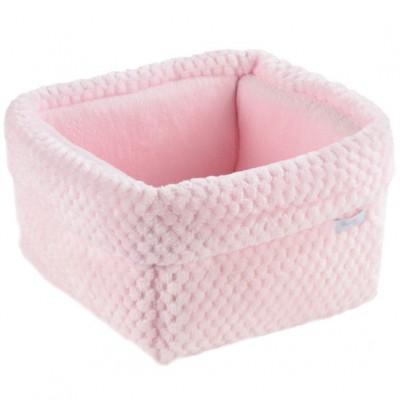 Panier de toilette Beryl rose  par Nougatine