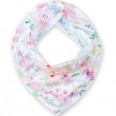 Bavoir bandana fleurs April