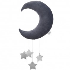 Mobile Lune gris graphite