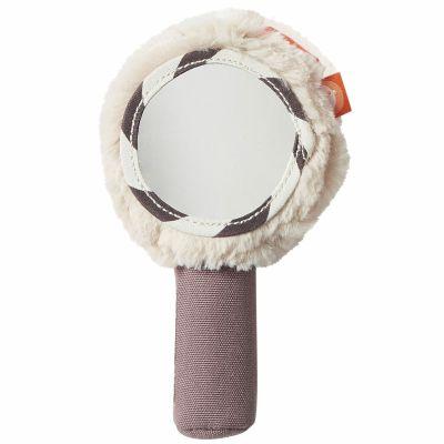 Hochet miroir rose