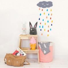 Stickers muraux Nuage de pluie