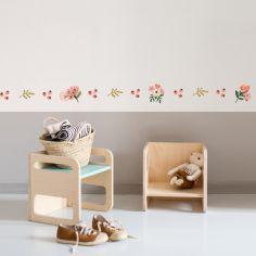 Frise adhésive Fleurs printanières (5 m)