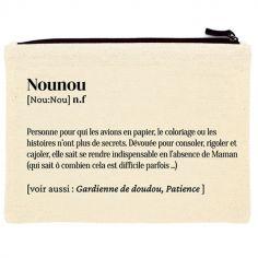 Pochette en coton bio Nounou