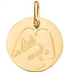 Médaille Little angel 14 mm (or jaune 750°)