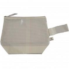 Trousse en coton enduit cahier d'écolier (25 x 30 cm)