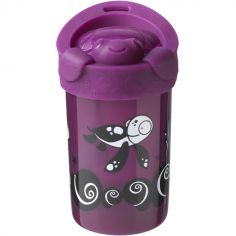 Tasse anti-renversement Super Cup rose (300 ml)