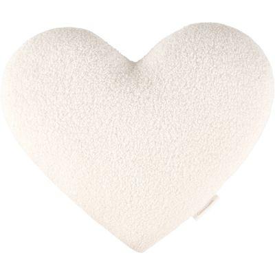 Coussin coeur fourrure Boho (44 cm)  par Cotton&Sweets