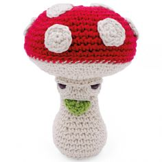 Hochet champignon Meredith l'amanite (14 cm)