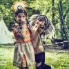 Coiffe indienne Anoki jaune  par Souza For Kids